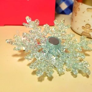 HTF BBW IRIDESCENT CANDLE TOPPER
